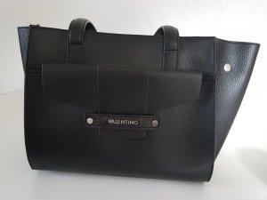 Valentino Schoudertas zwart-zilver