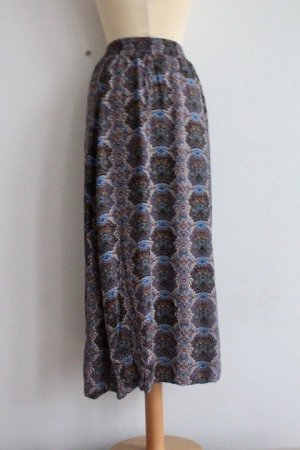 Maxi Skirt multicolored viscose