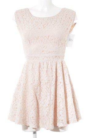 Valleygirl Spitzenkleid rosé Romantik-Look