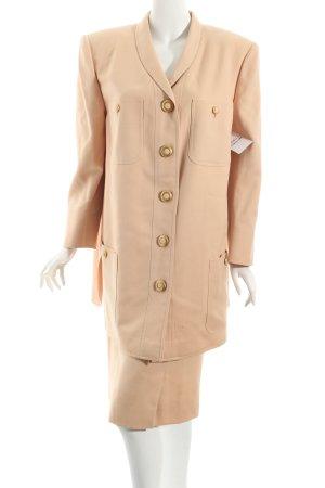 Valvason Serodine Turry Kostüm apricot Eleganz-Look