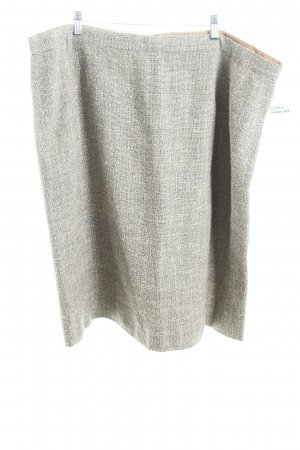 Valvason Serodine Turry Jupe en tweed multicolore style anglais