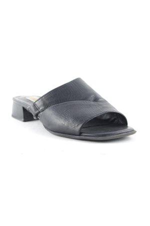 van der Laan Komfort-Sandalen schwarz Casual-Look
