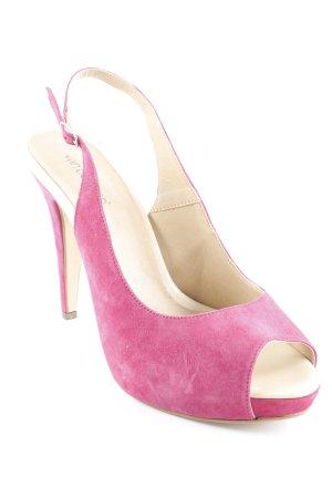 van der Laan Slingback pumps violet elegant
