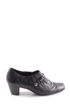 van der Laan Loafers zwart elegant
