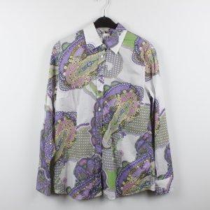 VAN LAACK Bluse Gr. L bunt gemustert (18/10/067)