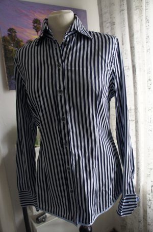 VAN LAACK Bluse Hemd Größe 40 blau