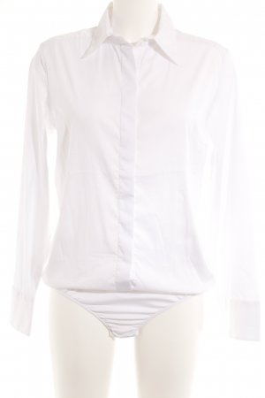van Laack Blusen-Body weiß Elegant