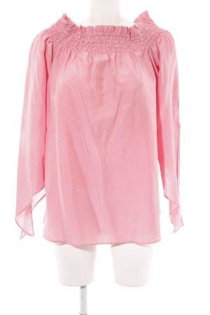 van Laack Carmen-Bluse pink Casual-Look