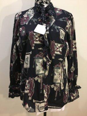 VAN LAACK Dawina - ausgefallene Bluse mit vielen schönen Details, Gr. 44, NEU mit Etikett!