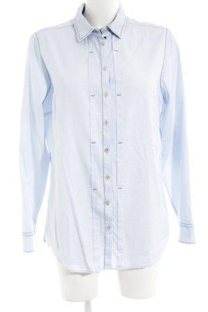 van Laack Hemd-Bluse blau Casual-Look