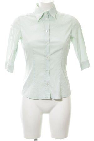 van Laack Hemd-Bluse blassgrün Business-Look