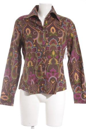 van Laack Hemd-Bluse florales Muster Casual-Look