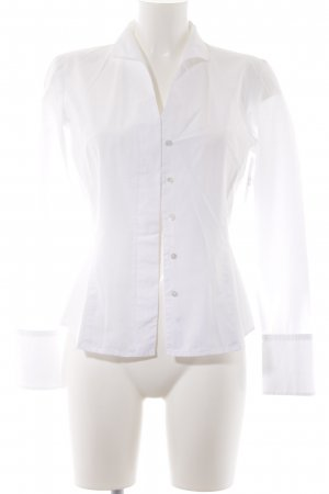 van Laack Hemd-Bluse weiß Elegant