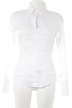 van Laack Hemd-Bluse weiß klassischer Stil
