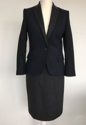 van Laack Ladies' Suit dark blue-grey new wool