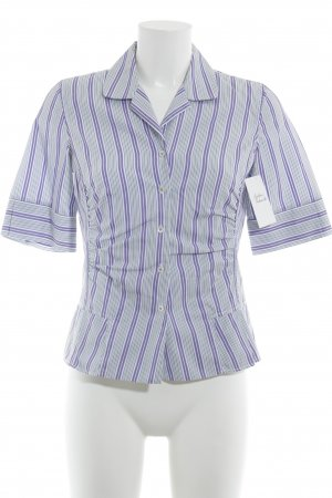van Laack Short Sleeve Shirt striped pattern elegant