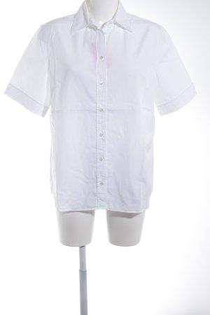 van Laack Shirt met korte mouwen wit klassieke stijl