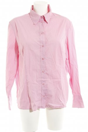 van Laack Langarm-Bluse rosa Business-Look