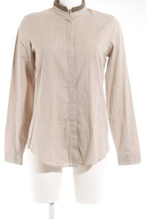 van Laack Langarmhemd beige-braun Casual-Look