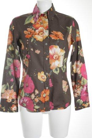 van Laack Langarmhemd florales Muster Gypsy-Look