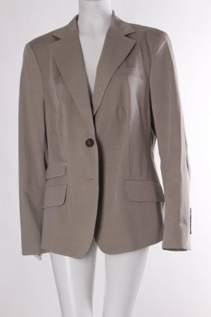 van Laack Long-Blazer hellbeige-beige Business-Look