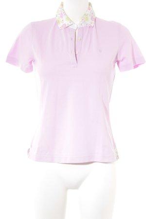 van Laack Polo-Shirt mehrfarbig Casual-Look