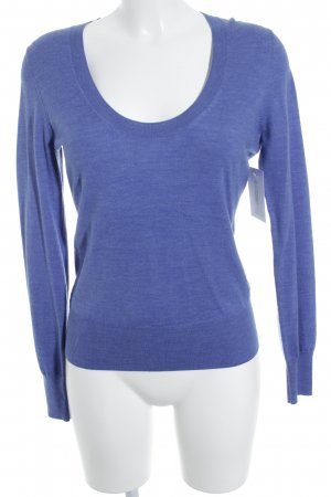 van Laack Crewneck Sweater cornflower blue
