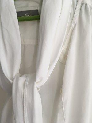 van Laack Blusa con lazo blanco