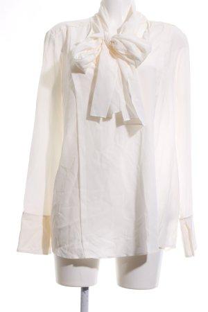 van Laack Silk Blouse natural white business style