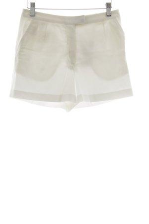 van Laack Shorts weiß-hellbeige