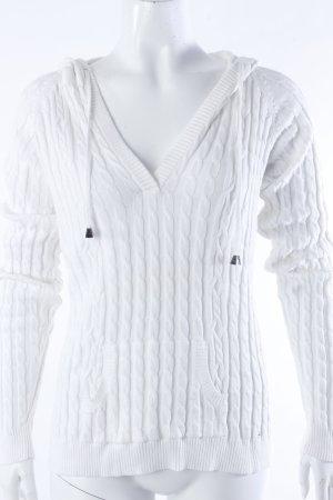 van Laack Strick-Pullover weiß