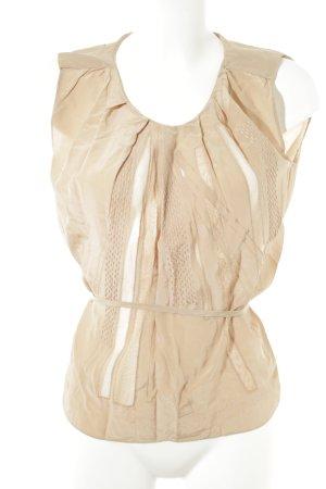 Vanessa Bruno ärmellose Bluse nude Elegant