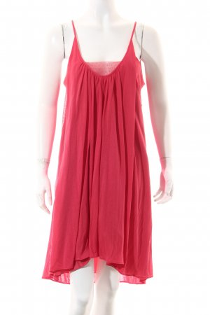 Vanessa Bruno athé A-Linien Kleid rot Casual-Look