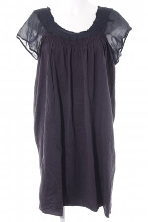 Vanessa Bruno athé Babydoll-jurk donkerblauw casual uitstraling