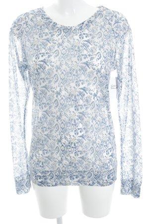 Vanessa Bruno athé Lang shirt abstract patroon casual uitstraling