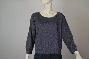 Vanessa Bruno Athé stylischer Pulli Sweater mit Glitzer Gr. I 34