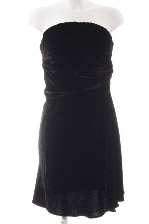 Vanessa Bruno Vestido bandeau negro elegante