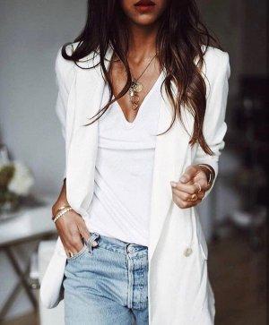 Vanessa Bruno Blazer Jacke Creme Weiß 40 Cord Oversized Jacket White Cotton L