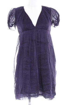 Vanessa Bruno Kurzarmkleid dunkelviolett Elegant
