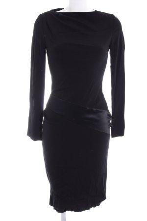 Vanessa Bruno Langarmkleid schwarz Elegant
