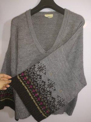 Vanessa Bruno athé Jersey holgados gris tejido mezclado