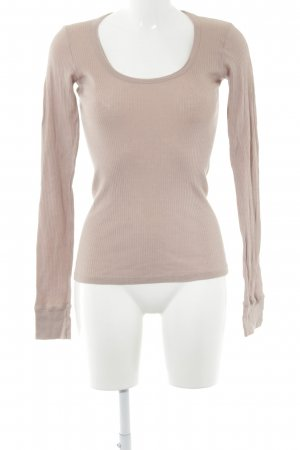 Vanessa Bruno Sweatshirt altrosa minimalistischer Stil