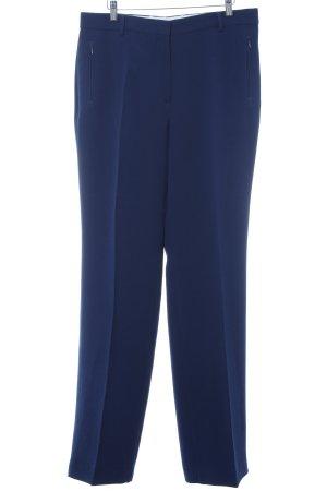 Vanilia Pantalon taille haute bleu élégant