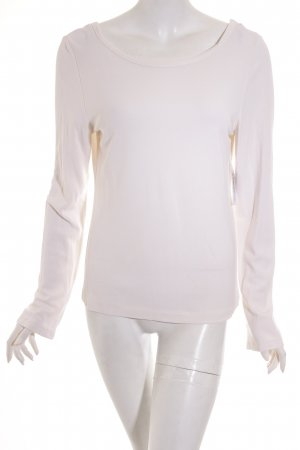 Vanilia Longsleeve creme Business-Look