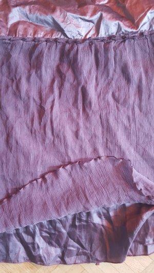 Vanilia Jupe plissée multicolore soie
