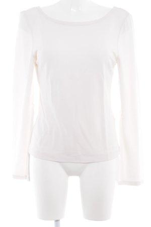 Vanilia Sweatshirt weiß minimalistischer Stil