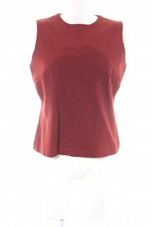 Vanilia Boatneck Shirt red casual look