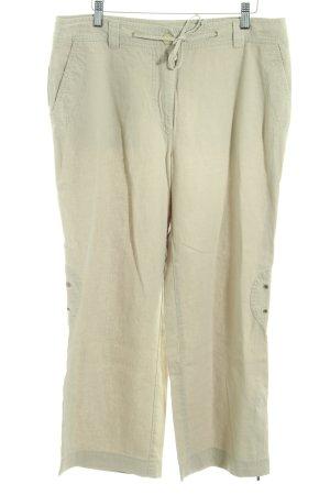 Vanilia Pantalon en laine chameau style décontracté