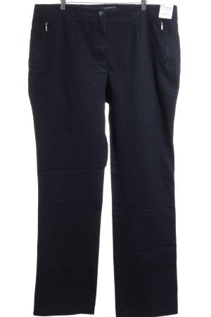 """Vanilla Straight-Leg Jeans """"Becky"""" dunkelblau"""