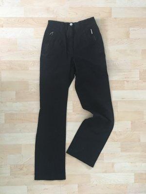 Vanillia Stretch 34 schwarz Reißverschluss Taschen gerade Stretch Highway